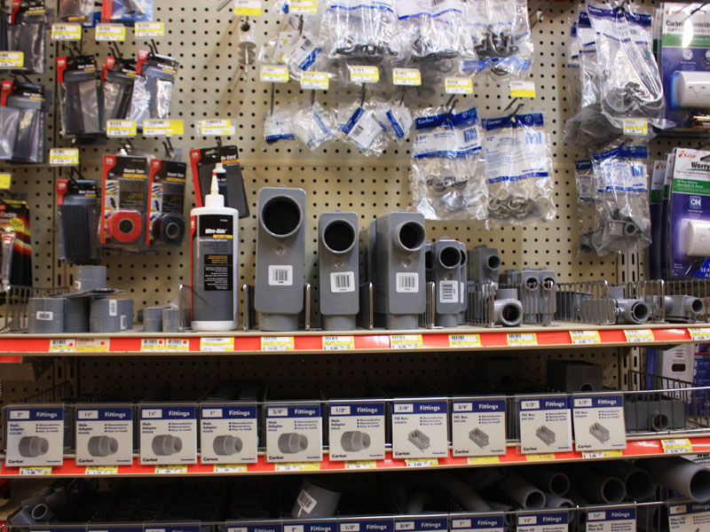 Charlie's Hardware electrical