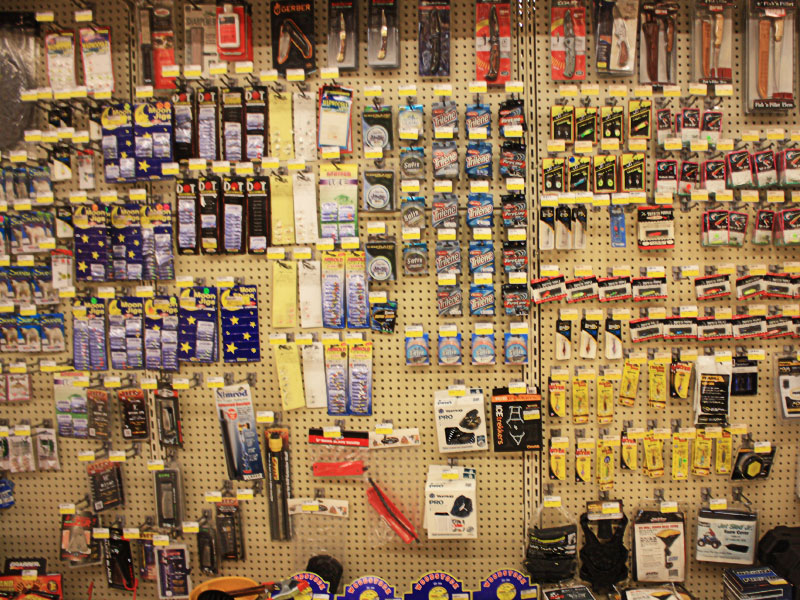 Charlie's Hardware fishing tackle and supplies