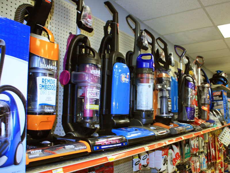 Charlie's Hardware vacuums