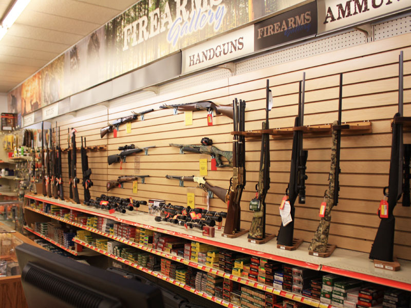 Charlie's Hardware hunting rifles, shotguns, ammunition, and supplies