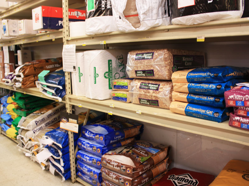 Charlie's Hardware pet supplies and animal feed